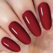 Red Dip Powder 1 Ounce /28g (Added Vitamin) Dipping Acrylic Powder Nail Art Manicure, No Need Nail Dryer Machine (DIP 029)