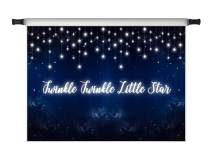 Kate 7x5ft Twinkle Twinkle Little Star Backdrops for Photoshoot Children Party Decoration Shining Star Blue Sky Photo Background Banner Backdrop