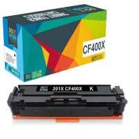 Do it Wiser Compatible Toner Cartridge Replacement for HP 201X 201A CF400X for use in HP MFP M277dw M252dw M277n M277c6 M277 M252n M252 (Black)