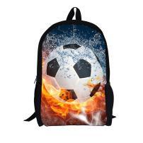 Funny Soccer Kids Backpack for School Elementary Boys FOR U DESIGNS