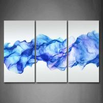 Firstwallart Artistic Abstract Blue Like Wave Wall Art Painting Pictures Print On Canvas Abstract The Picture for Home Modern Decoration