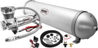 Vixen Air Suspension Kit for Truck/Car Bag/Air Ride/Spring. On Board System- 200psi Compressor, 5 Gallon Aluminum Tank. for Boat Lift,Towing,Lowering,Load Leveling Bags,Train Horn,Semi/RV VXO4850C