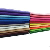 flic-flac 24pcs Thick 1.4mm Soft Felt Fabric Sheet Assorted Color Felt Pack DIY Craft Sewing Squares Nonwoven Patchwork (3030cm)
