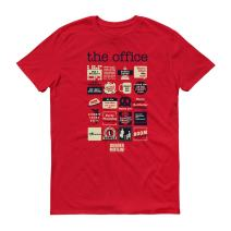 The Office Quote Mash-Up Men's Short Sleeve T-Shirt - Favorite Quotes from The Office - Official Tee Great for Gifting