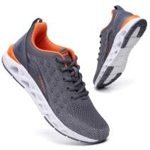 TSIODFO Men Sport Gym Running Walking Shoes