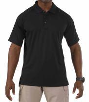 5.11 Tactical Men's Performance Short Sleeve Polo, Style 71049, Black, XXXX-Large