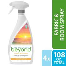 Beyond Fabric Refresher & Room Spray, Oxi-Powered Odor Eliminator, Safer Choice Approved. Case of 4 (Summer Sunrise)