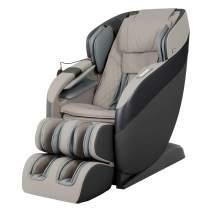 Ador AD-Infinix Computer Body Scan SL-Track Massage 18 Airbag Massage Zero Gravity Space Saving Recline Extendable Footrest Massage Chair (Black)