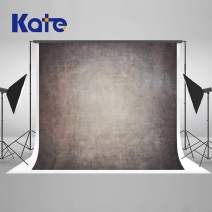 Kate 10×10ft Gradient Grey Brown Backdrops Portrait Abstract Photography Background Grunge Texuture Abstract Photo Backdrops for Photographer Soft Fabric Cloth Seamless Photo Headshot Props