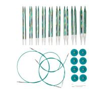 Knit Picks Options Wood Interchangeable Knitting Needle Set - US 4-11 (Caspian)