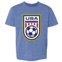 USA Soccer Crest Womens Team Men Rapinoe 2020 Youth Kids Girl Boy T-Shirt