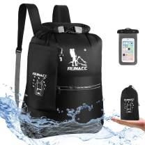 RUNACC Waterproof Dry Bag Backpack 20L Floating Dry Sack with Free Waterproof Phone Case for Beach, Kayaking, Camping, Boating, Swimming, Fishing, Hiking