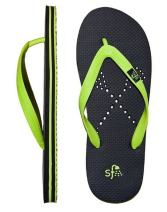 Showaflops Boys' Antimicrobial Shower & Water Sandals for Pool, Beach, Camp and Gym - La Crosse
