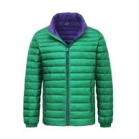 Rokka&Rolla Men's Ultra Lightweight Packable Puffer Down Jacket