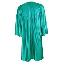 GraduationMall Unisex Shiny Graduation Gown Choir Robe for Confirmation Baptism 12 colors avaliable