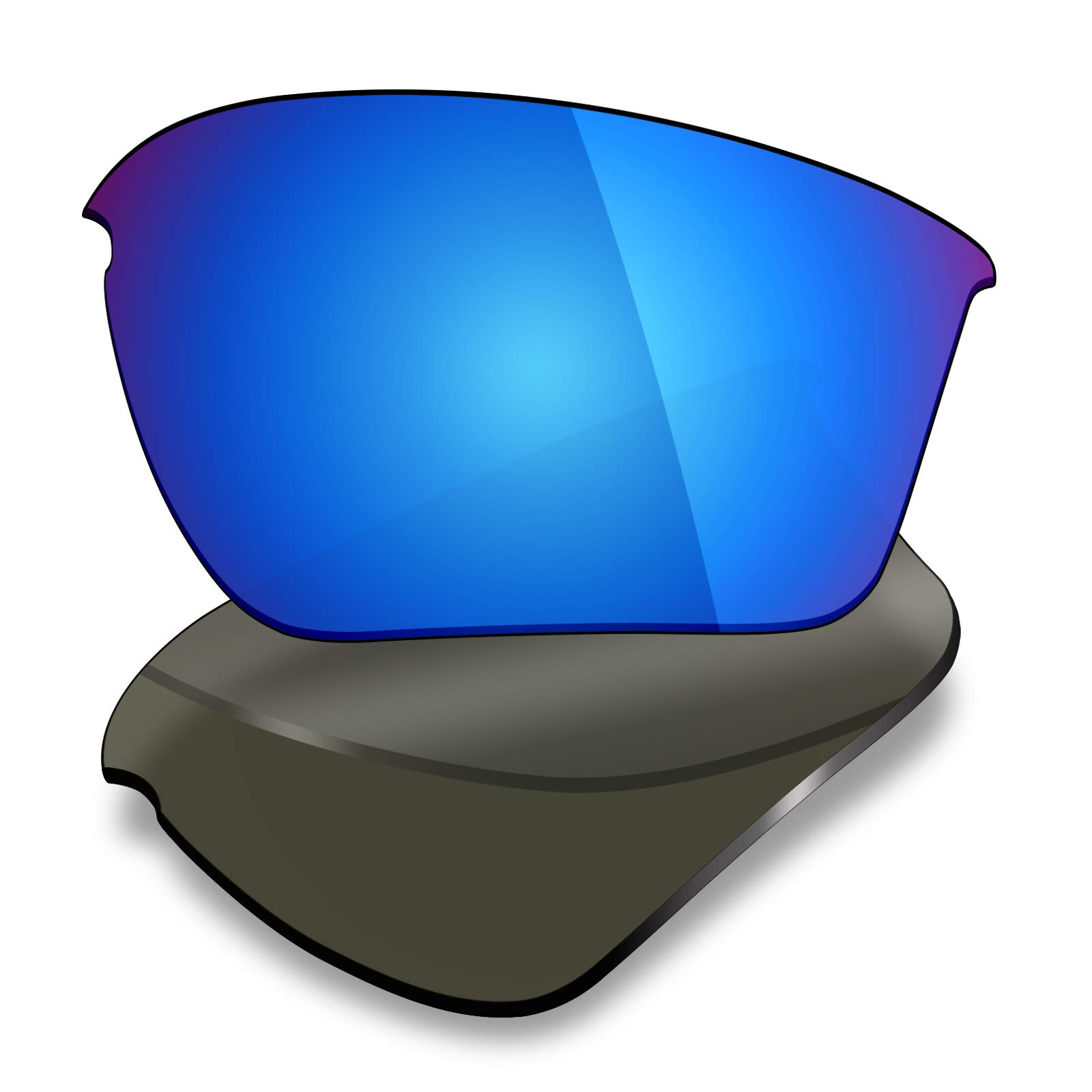 Mryok UV400 Replacement Lenses for Oakley Half Jacket 2.0 XL - Ice Blue