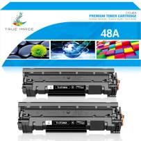 True Image Compatible Toner Cartridge Replacement for HP 48A CF248A Laserjet Pro M15w M29w M16a M16w M15a Laser Jet MFP M28w M28a M31w M28 M29 M15 M29a M30w Printer Ink (Black, 2-Pack)