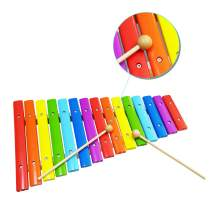 WEY&FLY Xylophone for Kids, Musical Toy with Child Safe Mallets, Children Educational Music Toys Perfectly Tuned Instrument