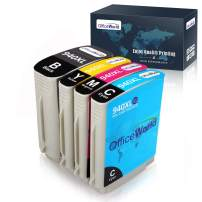 OfficeWorld Compatible Ink Cartridge Replacement for HP 940 940XL 940 XL (4 Packs), Compatible with Officejet Pro 8000 8500 8500A 8500A Plus Printer