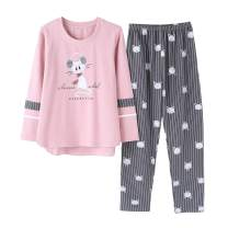 Vopmocld Big Girls Winter Pajama Sets Long Sleeve Striped Printed Sleepwear 2 Piece PJS