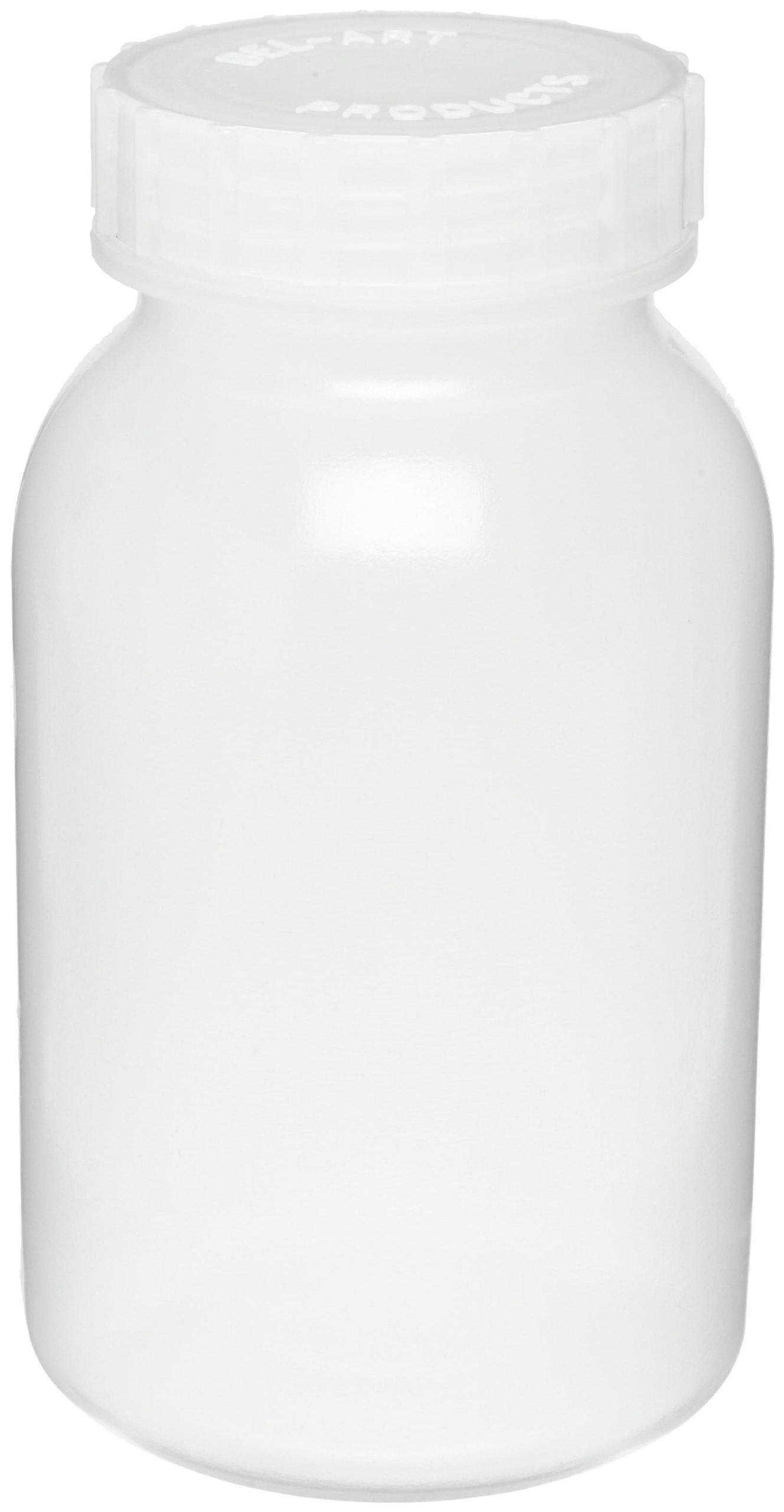 Bel-Art Wide-Mouth 1 L (1 qt) Polypropylene Mason Jars (Pack of 6) (F10914-0000)