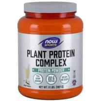 NOW Sports Nutrition, Plant Protein Complex Powder 22 G, Creamy Vanilla, 2-Pound