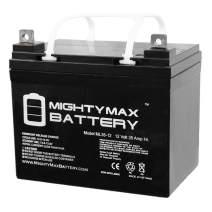 Mighty Max Battery ML35-12 - 12V 35AH DC DEEP Cycle SLA Solar Energy Storage Battery Brand Product