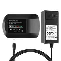Energup Replacement WA3742 Charger for Worx 20V Lithium Batteries WA3520 WA3525 20-Volt worx battery charger
