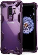 Ringke Fusion-X Compatible with Galaxy S9 Plus Case Transparent Military Drop Tested Defense Hard PC Back TPU Bumper Resistant Protection Cover for Galaxy S 9 Plus (2018) - Lilac Purple