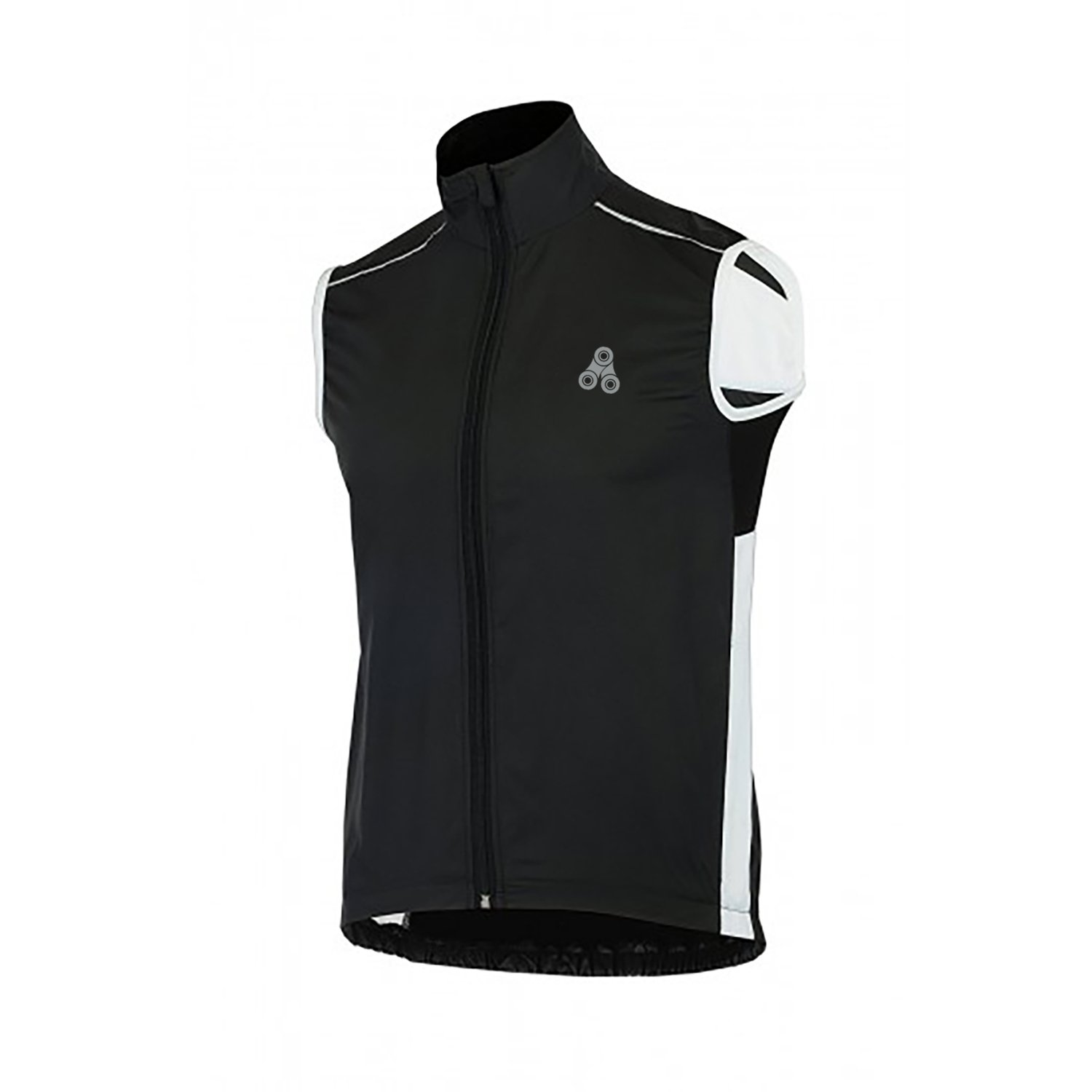 Urban Cycling Windbreaker Vest - Windproof and Reflective Sleeveless Jacket Vest Gilet for Road Cycling, MTB, or Bike Commuting