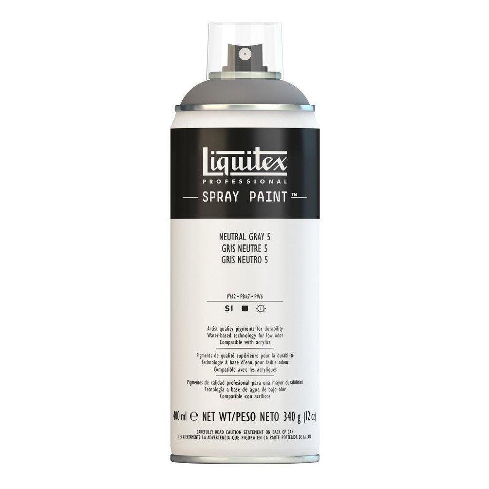 Liquitex Professional Spray Paint, Neutral Grey 5