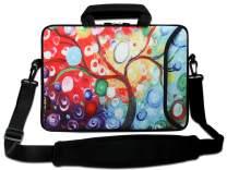 "AUPET 9.7-10.6"" 11-13.3"" 14-15.6"" Neoprene Sleeve Notebook Messenger Case Tote Bag"
