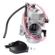ECCPP Carburetor 0470-448 Replacement Carburetor Fit for 1995-2003 Kawasaki Lakota 300 KEF300A KEF300B Sport