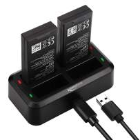 Keenstone 4 in 1 Battery Charger Hub for DJI Tello Drone Battery Charger (The Pictured Batteries are not Included)