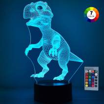ATOPDREAM TOPTOY 3D Dinosaur LED Night Light - Best Gifts