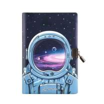 Planet Locking Journal for Boys Kids, Combination Lock Diary with Key,A5 Secret Notebook, Exploring Space Diary, Stationery Gift for Students&Children