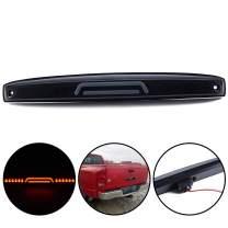 3D LED Bar Rear Center Tailgate Light Replacement For Dodge Ram 2500 3500 Truck 2003 2004 2005 2006 Black Housing Smoke Lens Brake Tail Lamp Assembly