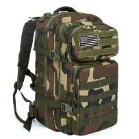 MEWAY 42L Military Tactical Backpack Large Assault Pack Molle Outdoors Daypack (ACUG)