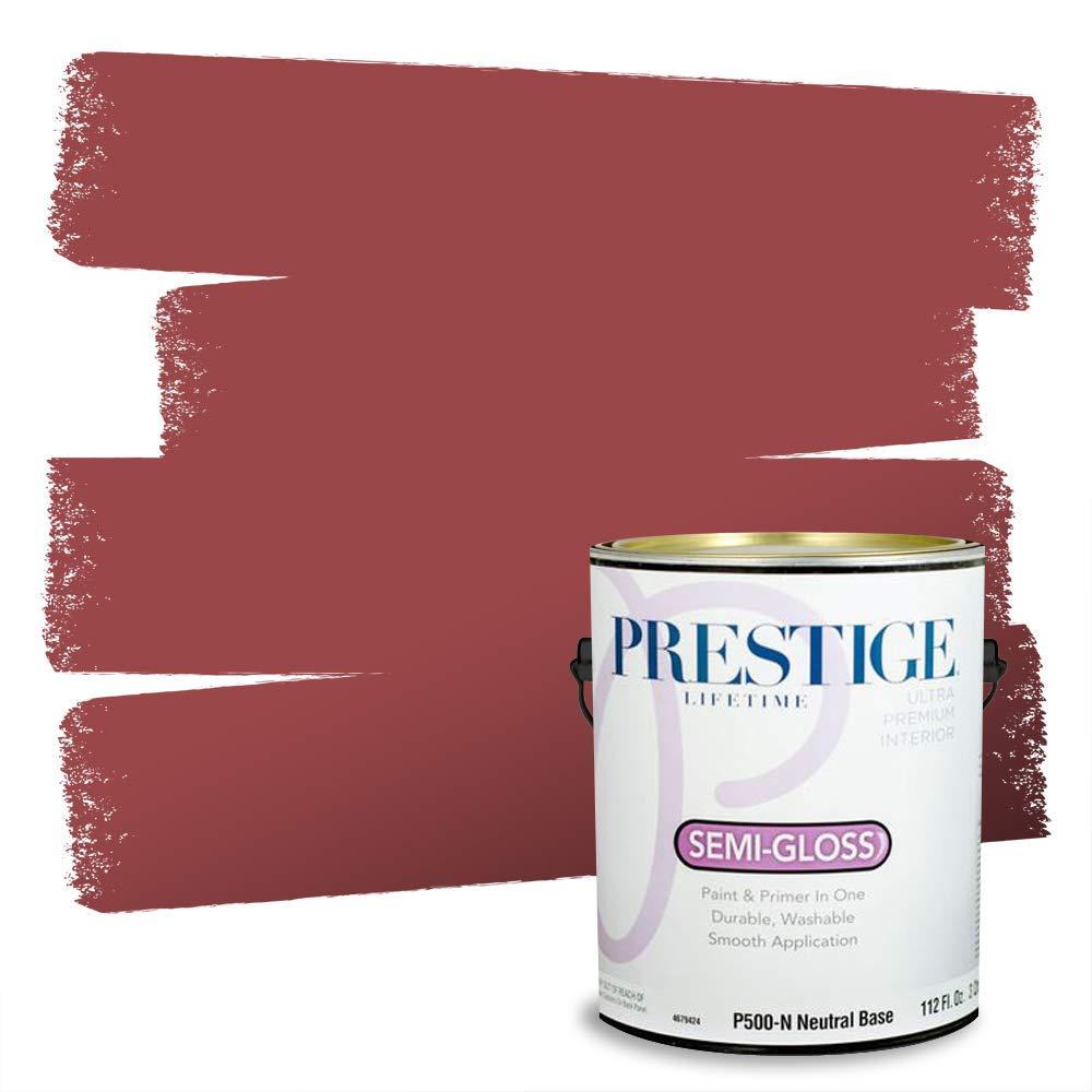 Prestige Interior Paint and Primer in One, 1-Gallon, Semi-Gloss, Barn