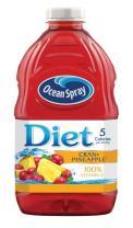 Ocean Spray Diet Cran-Pineapple Juice, 64 Ounce (Pack Of 8)