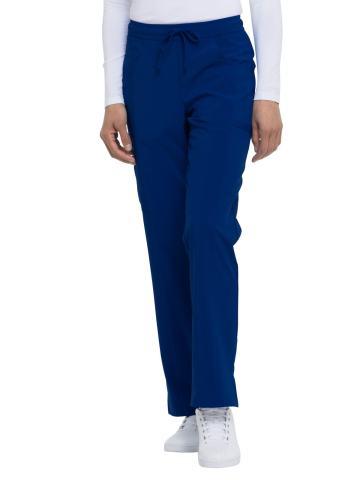 Dickies EDS Essentials Women Scrubs Pant Mid Rise Straight Leg Drawstring DK010