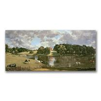 Wivenhoe Park, Essex by John Constable, 12x24-Inch Canvas Wall Art