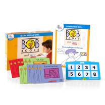 hand2mind Learn To Read With BOB Books And VersaTiles Advancing Beginner Set, Early Reader Books For Kids Ages 4-6, 12 BOB Books, Workbook And Answer Case, Homeschool Kindergarten Supplies