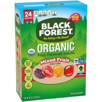 Black Forest Organic Fruit Snacks, Mixed Fruit, 0.8 Ounce, Pack of 24