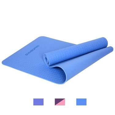 6mm EVA Extra Thick Durable Fitness Exercise Yoga Mat Non-Slip Foam Interlocking