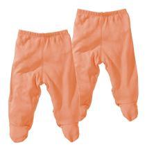 Babysoy Comfy Basic Footie Pants Unisex 2 Packs