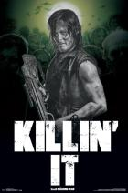 "Trends International Walking Dead Killing' It Wall Poster 22.375"" x 34"""