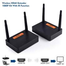 measy FHD676 2.4G/5G 1080P Wireless HDMI Video Audio Transmitter Receiver IR Extender up to 200M hdmi Extender HDMI Converter HDMI