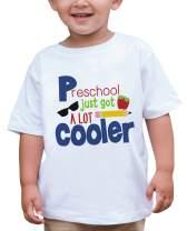 7 ate 9 Apparel Kids Preschool Just Got Cooler School T-Shirt