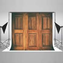 Kate 8x8ft Wood Wall Photo Backdrop Vintage Texture Wooden Door Photography Backdrop Portrait Photo Studio Prop